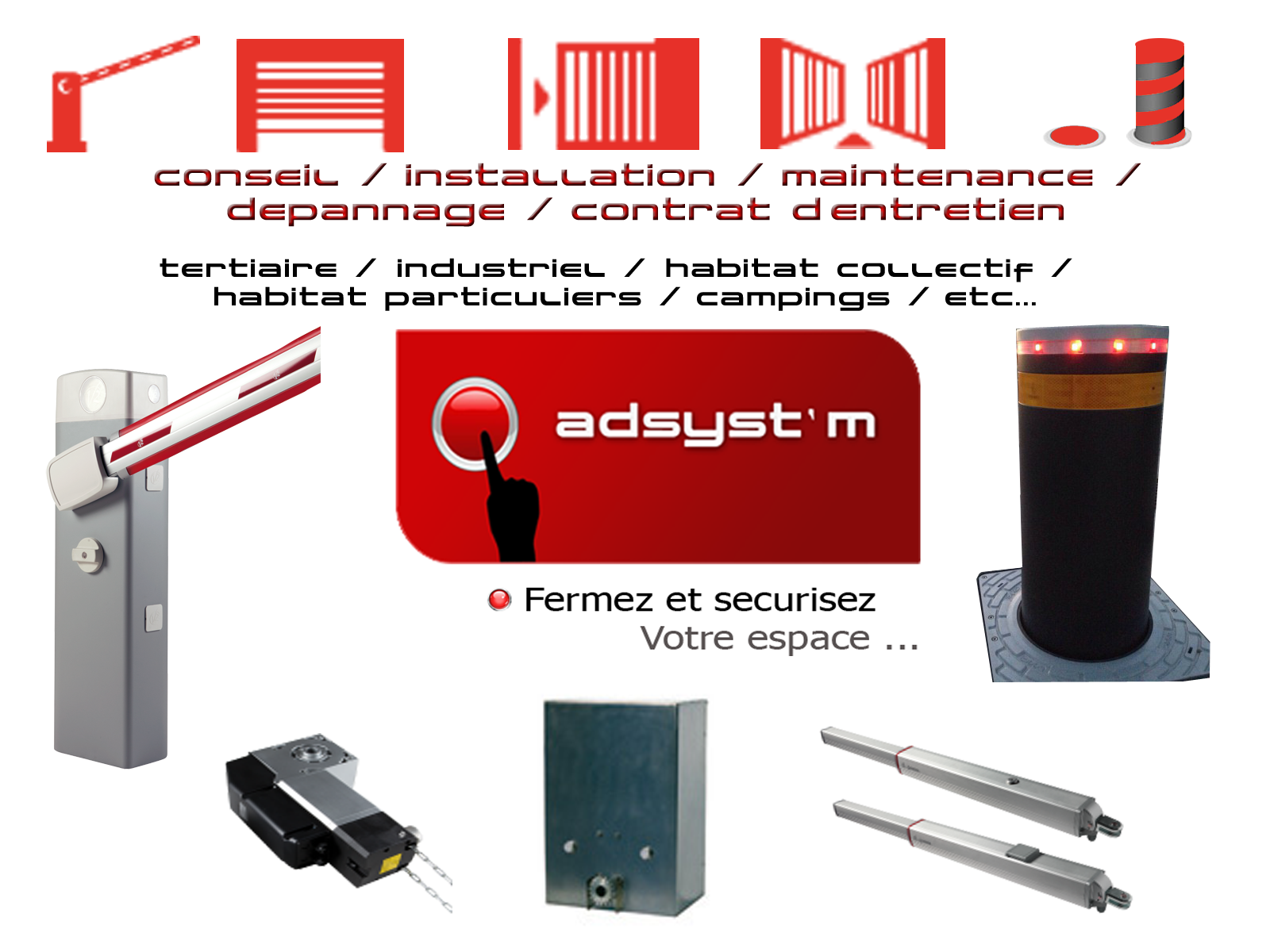 ad systm automatisation portail